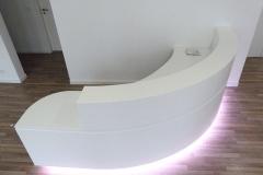 Empfangstheke_340_LED_Lichtsteuerung_weiss_lackiert